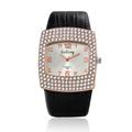 Newest Fashion Ladies Casual Quartz Watches Luxury design Women dress watch Firm Leather Straps Big Dial