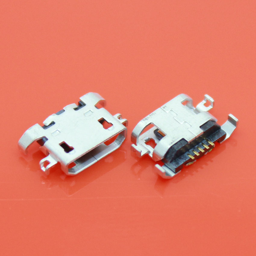 10PCS 100% New micro USB connector charging port Replacement Parts for Lenovo A670 S650 S720 S820 S658T A830 A850(China (Mainland))