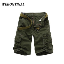 WEBONTINAL Adolescent 2017 Brand-Clothing Summer Shorts Men Quality Fashion Casual Loose Solid Short Pants Male Plus Size 28-38(China (Mainland))