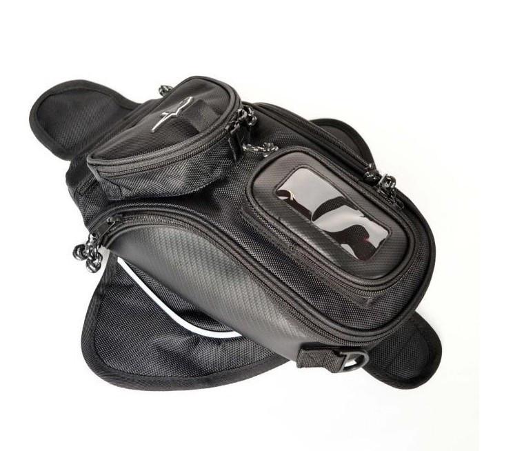 Мотоцикл гоночный рыцарь черный мотоцикл танк рюкзак сумка магнетизм рисовать