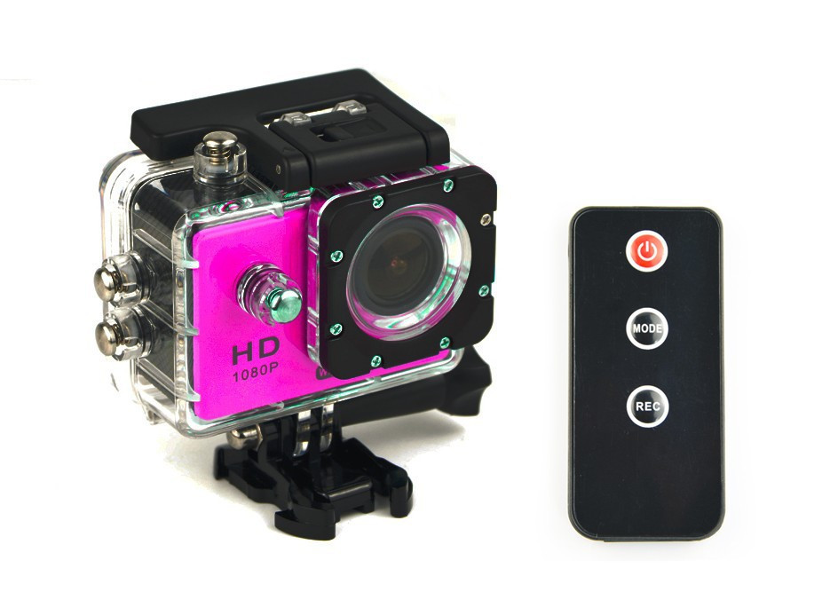 Remote Control Camera WiFi Action Camera 1080p Full HD Camera Waterproof Gopro