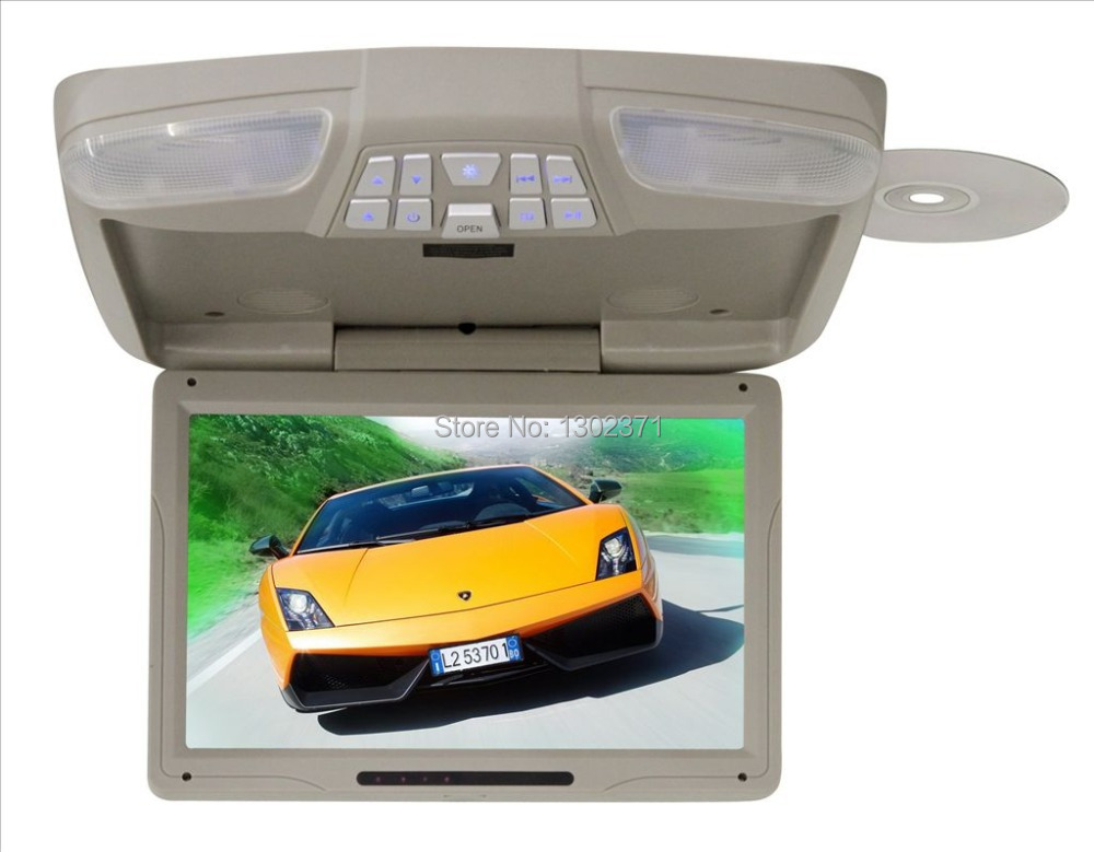 12'' Roof mount DVD Player with IR/FM/USB/SD/SPK,Game(China (Mainland))