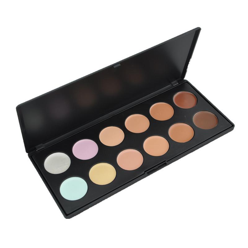 12 Colors Face Care Concealer/Foundation Cream/Contour Face Cream Makeup Concealer Palette/High Quality(China (Mainland))