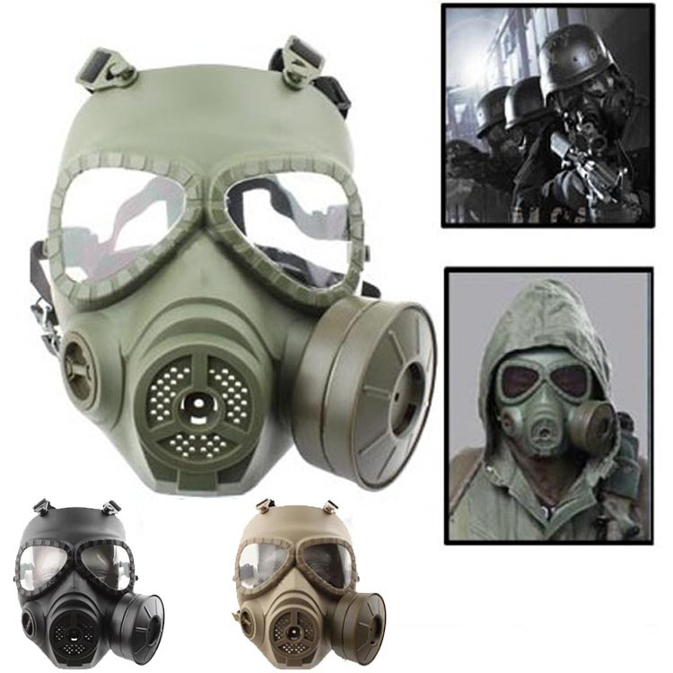 Gas Mask Paintball Mask Gas Full Face Combat Mask