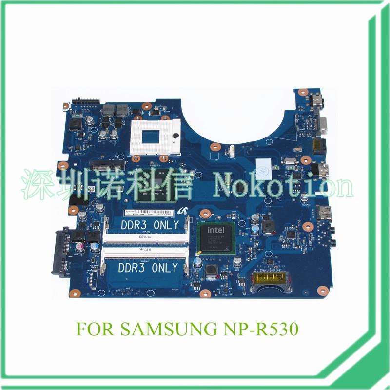 BA41-01223A BA92-06337A BA92-06337B For samsung NP-R530 R530 laptop motherboard DDR3 GM45(China (Mainland))