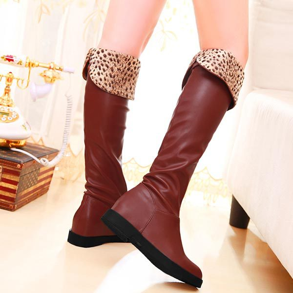 Autumn Boots Sexy Fashion Women Over The Knee Boots Gladiator Long Boots Low Heels Platform Belt buckle Motorcycle Boots C977<br><br>Aliexpress