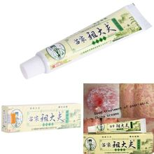 15g Psoriasis Dermatitis Eczema Treatment Anti Bacterial Skin Fungus Herbal Cream Ointment Miao T06(China (Mainland))