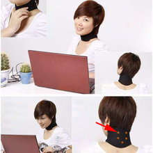 Magnetic Therapy Neck  Spontaneous Heating Headache Belt Neck Massager ARE4