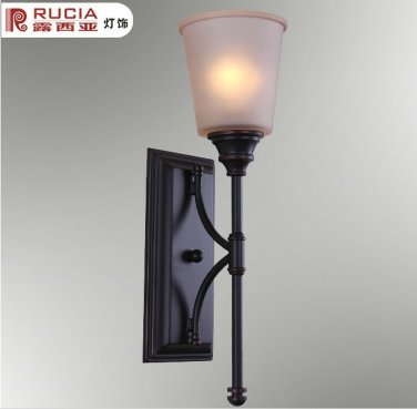 Free  Shipping  Wall Light with 1 Light in White Shade------A046<br><br>Aliexpress