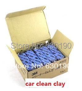 Car Cleaning Tool Magic Car Clean Clay Bar Auto Detailing Cleaner Washing Sludge Mud Remove Free Shipping Wholesale(China (Mainland))