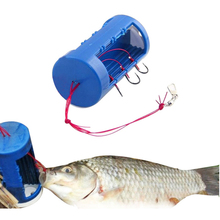 Delicate new fishing hook set six strong jig hook fishing hook set with bait holder fishing accessories Hot Selling