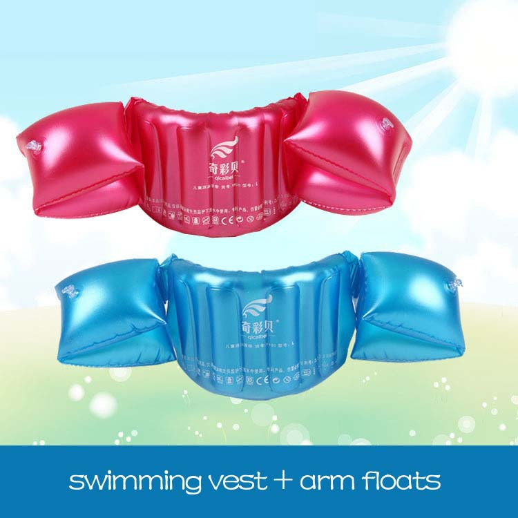 Summer Style Floating Swimming Pool Accessories Kids Arm Floats Swimming Vest For Children