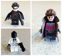 300pcs/lot Red Robin/ BLACK MASK/ individual Gambit Figures Super Heroes Avengers minifigures Building Block bricks