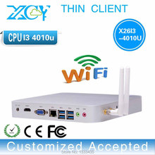Support Bluetooth embedded Audio mini PCs X26-i3 4010u INTEL Dual core desktop mini atx pc 4gb ram 160g hdd