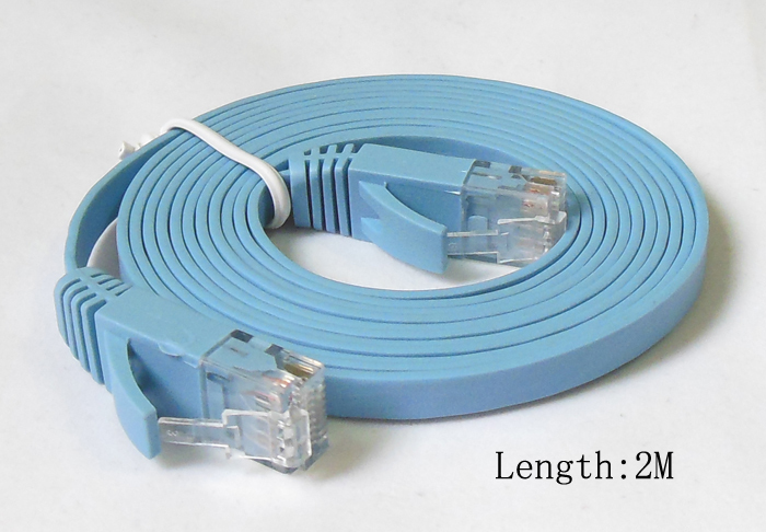 1M 2M 3M 5M 10M 15M 20M CAT6 RJ45 cable Flat UTP 10/100/1000Mbps Ethernet Network Cable Networking cable For PC Router DSL Modem(China (Mainland))
