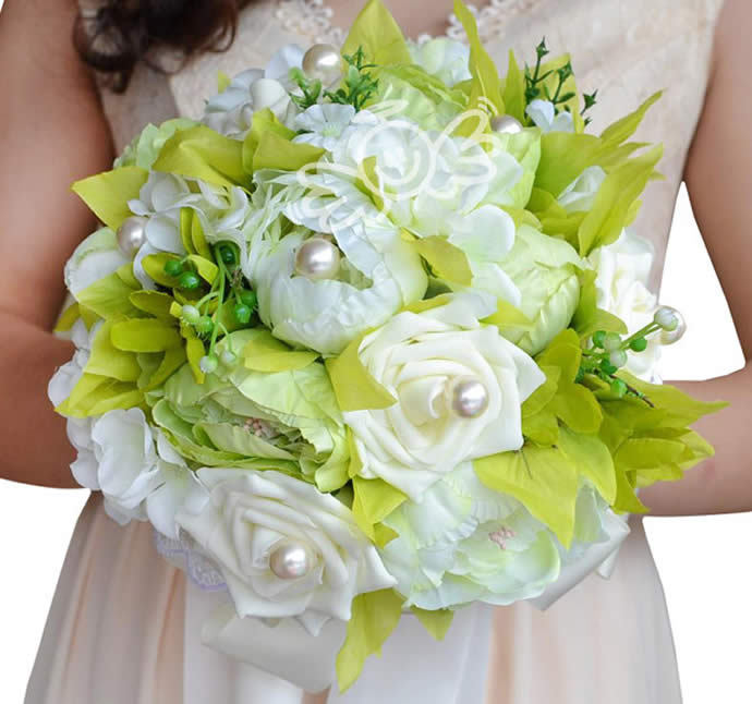 discount artificial flowers wedding
