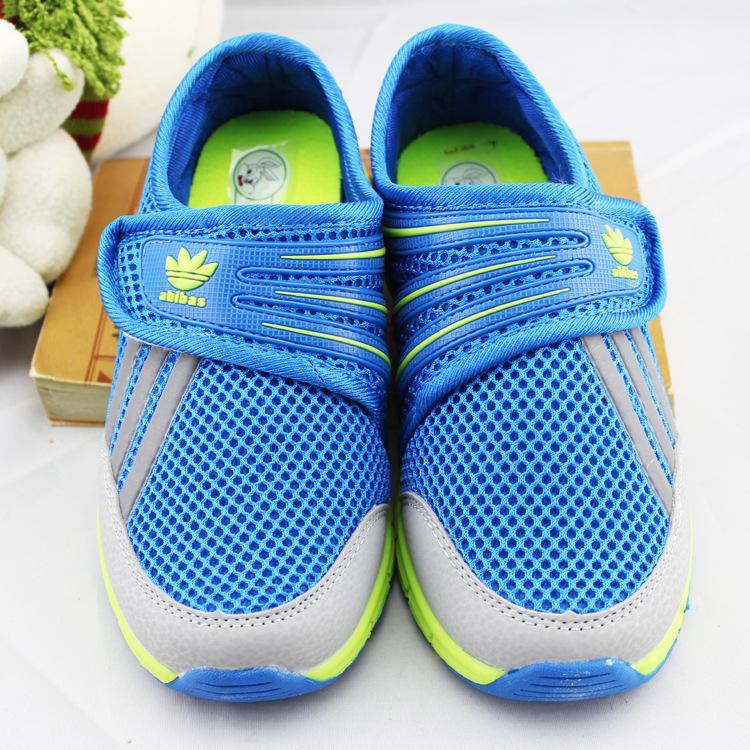 The new 2015 The boy canvas shoes children's shoes Breathable comfort children's shoes sports network(China (Mainland))