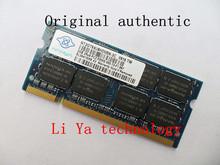 Nanya 2 ГБ DDR2 SODIMM 667 мГц PC2-5300 200 контакт. ноутбук ноутбук памяти оригинальной аутентичной оперативной памяти