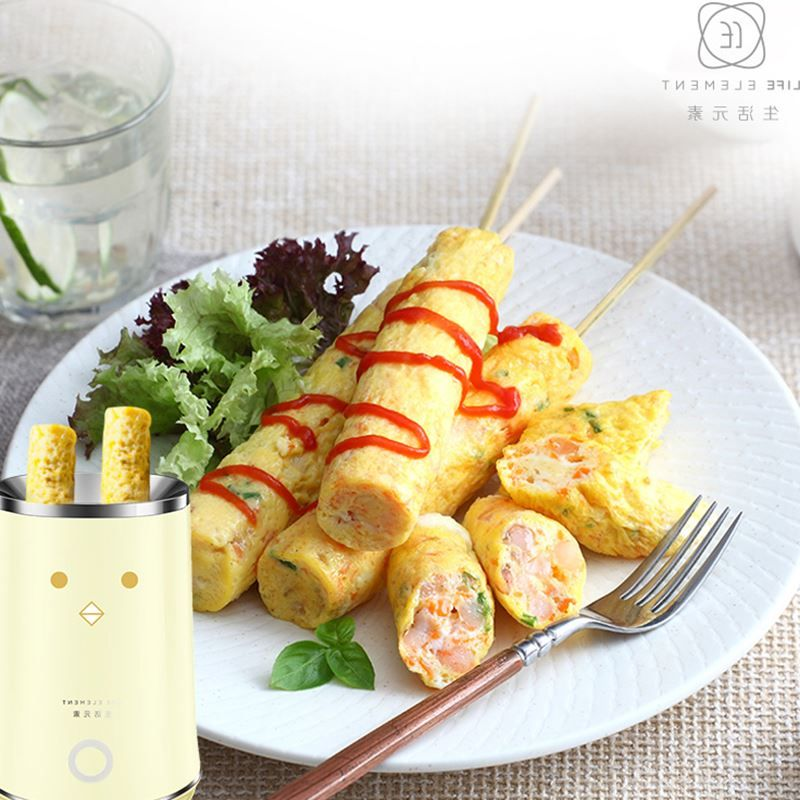 Breakfast egg cup roll machine multifunction automatic stainless steel coil fried rolls special(China (Mainland))
