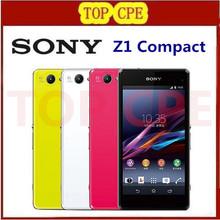 "Sony Xperia Z1 Compact Original Unlocked Z1 mini GSM 3G&4G Android Quad-Core 2GB RAM 4.3"" 20.7MP WIFI 16GB rom D5503 Smartphone(China (Mainland))"