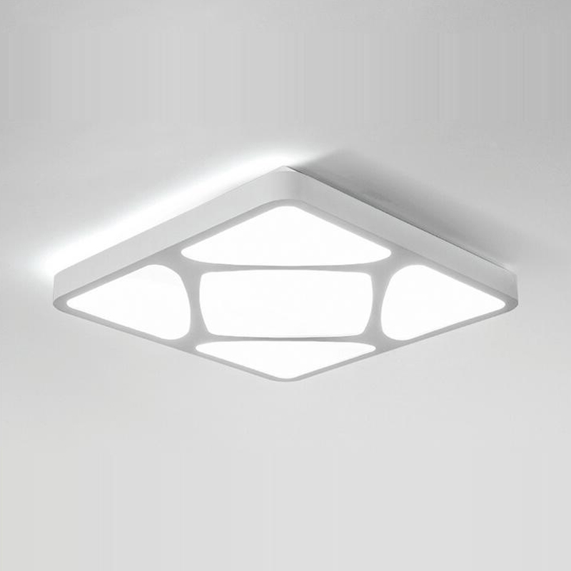 Фотография Modern Led Ceiling Light 24W 44x44 CM Flush Mounted Metal Acrylic Led Light for Living Bed Room Office  Light