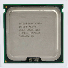 Original X5470 CPU processor (3.33GHz /LGA771/12MB L2 Cache/Quad Core/FSB 1333) server CPU with two 771 to 775 adapters