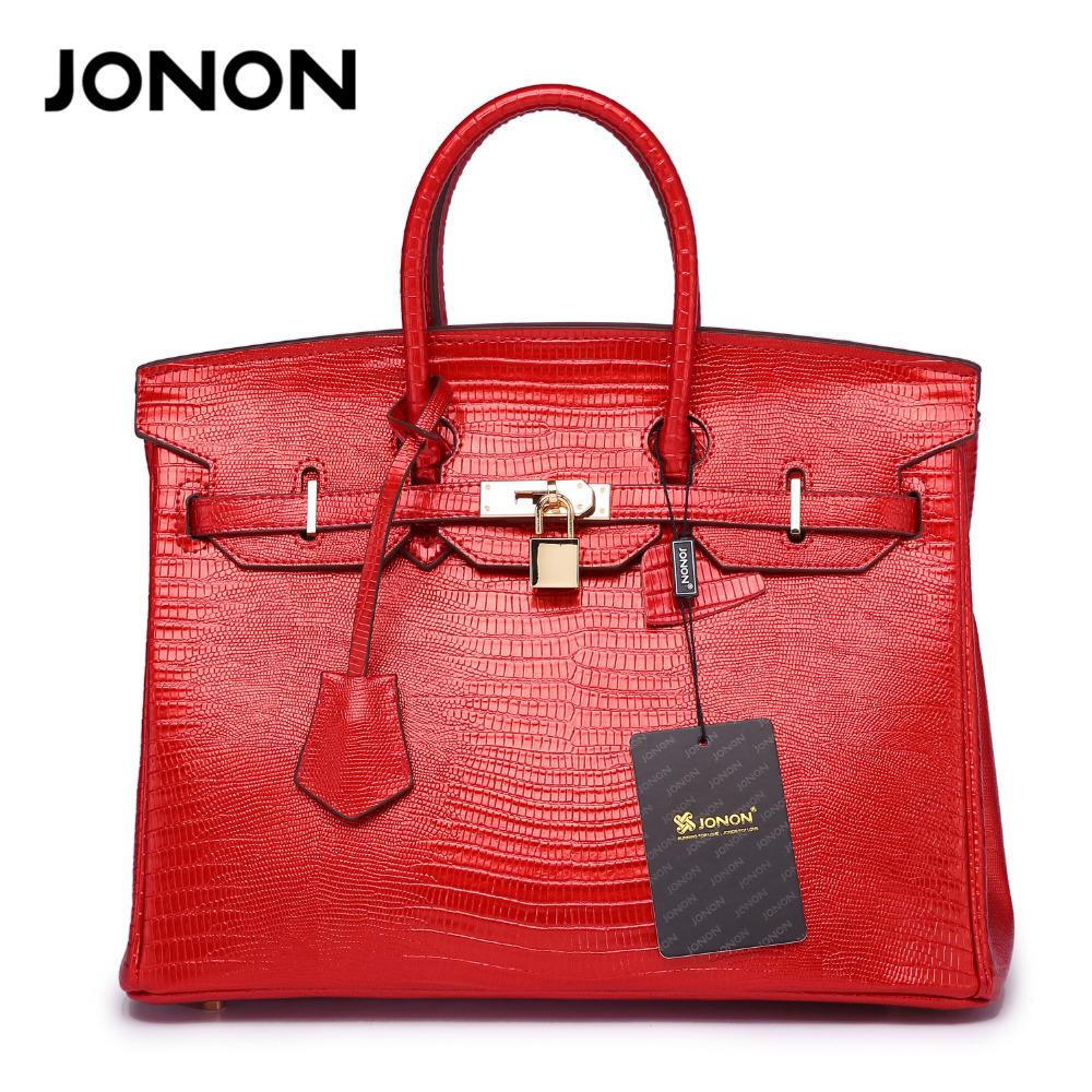 Geniune Leather Lock Totes Alligator Crocodile Crossbody Bags Handbags Women Famous Brand Designer High Quality Ladies Handbags(China (Mainland))