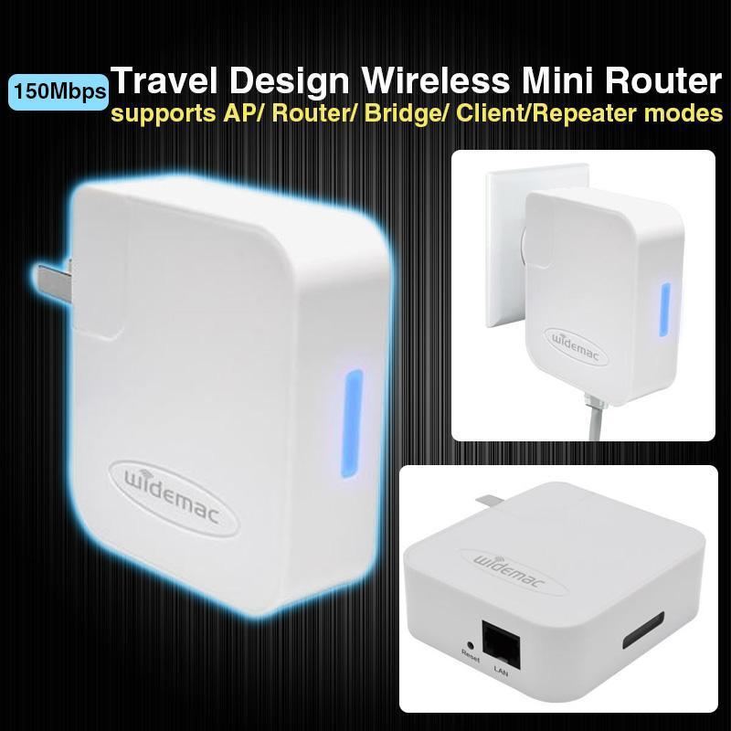 Travel Design 150Mbps WIFI wi fi router 802b/g/n Adaptor AP Client Repeater Bridge Wireless-N wi-fi Router(China (Mainland))