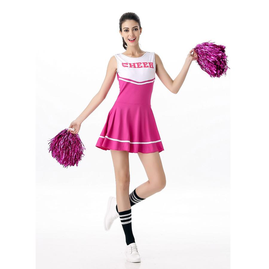 naked girls in cheerleading uniforms