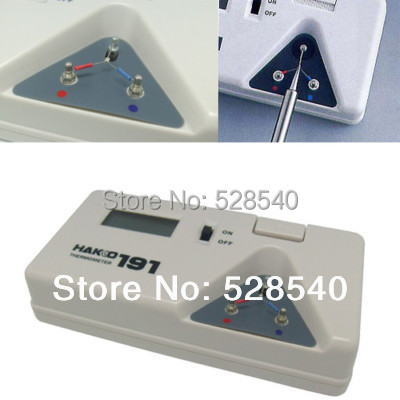 free shipping 1pcs hot sale hakko 191 soldering iron tip temperature test meter hakko. Black Bedroom Furniture Sets. Home Design Ideas
