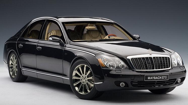 2015 hot sell Benz Maybach 57S 1:18 alloy car model(China (Mainland))