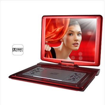 Top selling SAST 22 inch HD LCD Digital Screen DVD Portable Player Loudspeaker Player with Card Reader&USB Port Support TV(China (Mainland))