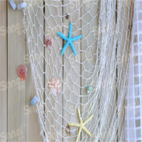 Top Quality HOT Home The Mediterranean Sea style Wall Stickers big fishing net decoration home decoration wall hangings HO673216
