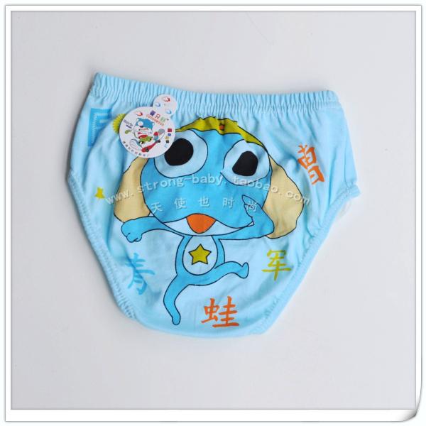Child panties briefs 100% cotton panties student pants 100% color cotton briefs