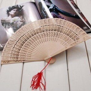 free shipping sandalwood folding hand fanS,with no patterns imprinted ,for  sales promotion ,Souvenir, decoration