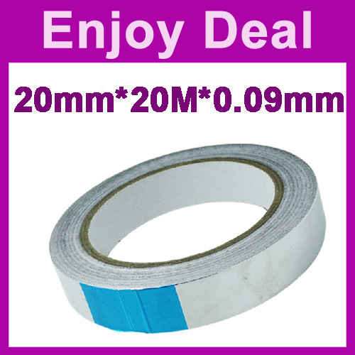 the best price Heat Resistant Sealing tape10pcs/lot 20mm*20m*0.09mm BGA Aluminum adhesive Tape free shipping(China (Mainland))