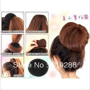 Novelties Hair Volume Bun Tool Donuts Elastic Headband Hair Accessories Fascinator Korean Style bun maker