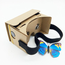 Googlecardboard VR mobile phone box storm mirror wearing virtual reality glasses 3D format
