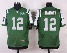 Top quality For Mens,Joe Namath Eric Decker Home Away GREEN WHITE Rush Free Shipping stitched Jet PIC(China (Mainland))