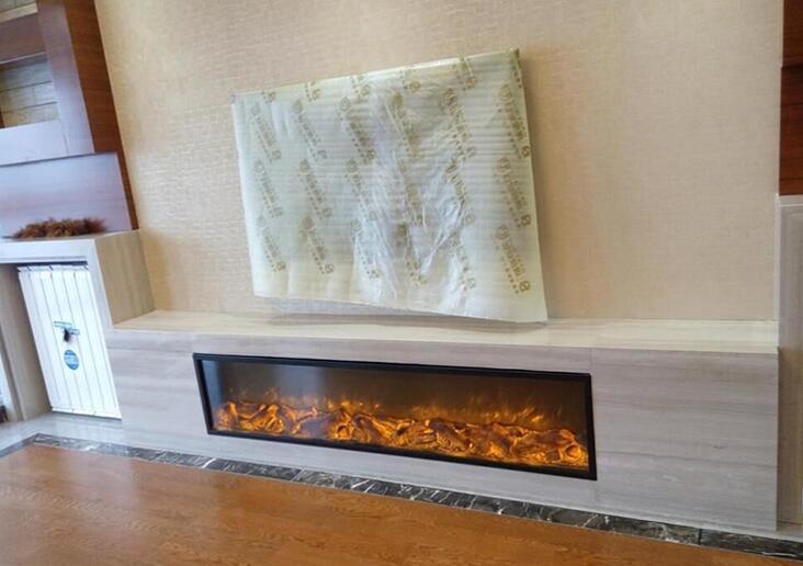 Frete grátis para a Europa china 1500mm lareira elétrica falso artificial para a decoração(China (Mainland))