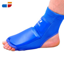 MAX PU High Quality Sports Ankle Brace Football Ankle Protectors Foot Support Blue Bandage XXL for Adult(China (Mainland))
