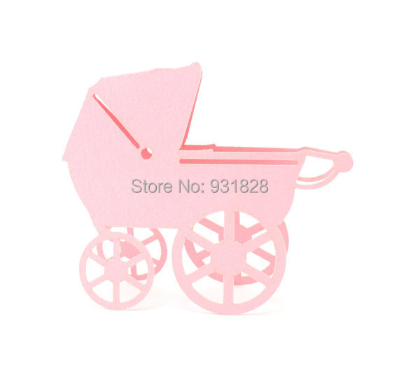Baby Shower Seating: Baby Carriage Place Cards Pram, Baby Shower, Party Seating