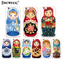 """Beautiful Matryoshka photo fundas for apple iPhone 6 6S Plus 5.5"""" accessories silicone back cover coque cell phone cases Capas"""