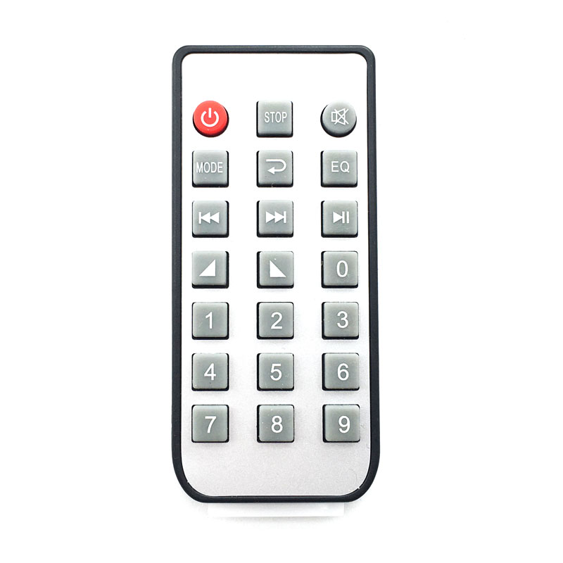 21 Silicon Key Button Wireless Remote controller MP3 Decorde board IR Remoter Music Player Module Receiver (not universal use)(China (Mainland))