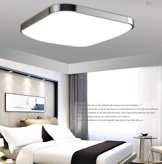 50% OFF  Modern LED Apple Ceiling ligh Square 12W 30CM led Ceiling Lamp kitchen light bedroom modern livingroom free shipping<br><br>Aliexpress