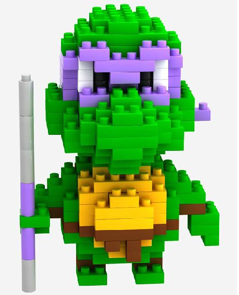 2015 Newest LOZ purple strap Teenage mutant ninja turtles Action Figure 3D Bricks/buildingToys building blocks Children - China Super Goods store