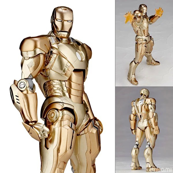 Iron Man Gold Edition Special Edition<br><br>Aliexpress
