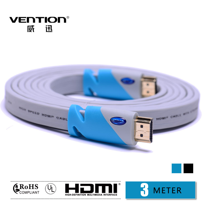 Vention High Speed Gold Plated HDMI to HDMI Cable 3m 1.4v 1080P For Computer HD TV Box(China (Mainland))