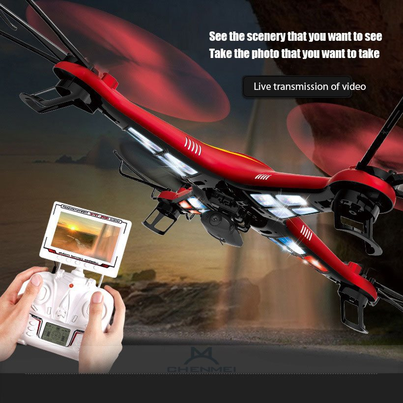 Extra large aerial rc helicopter JJRC669 6axis GYRO 6CH 5.8G professional RC quadcopter with 2MP HD camera gifts toys for kids(China (Mainland))