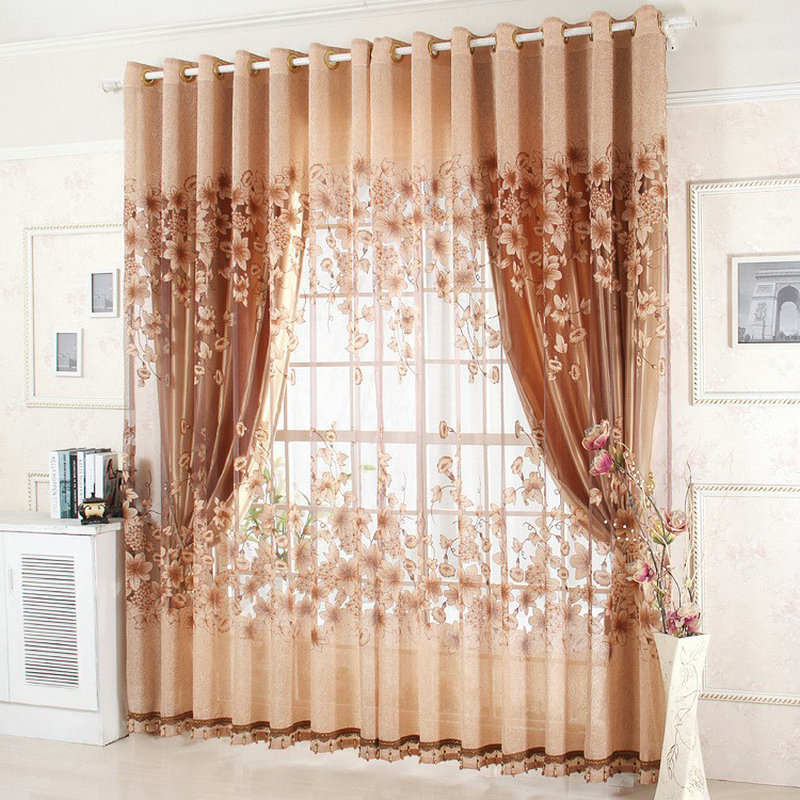 Compre na venda pronto janela cortinas para sala de estar cama cortina de - Cortinas para cama ...